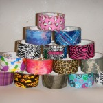 4-5-11 tower of printed duct tape