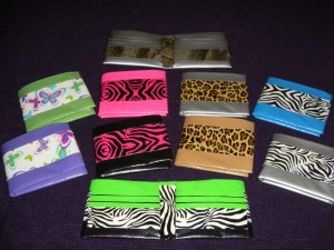 Animal Print DucTape Wallets