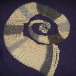 Alpaca and acrylic yarn fairy knit hat