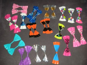 ductape hair bows