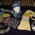 knit fairy hats