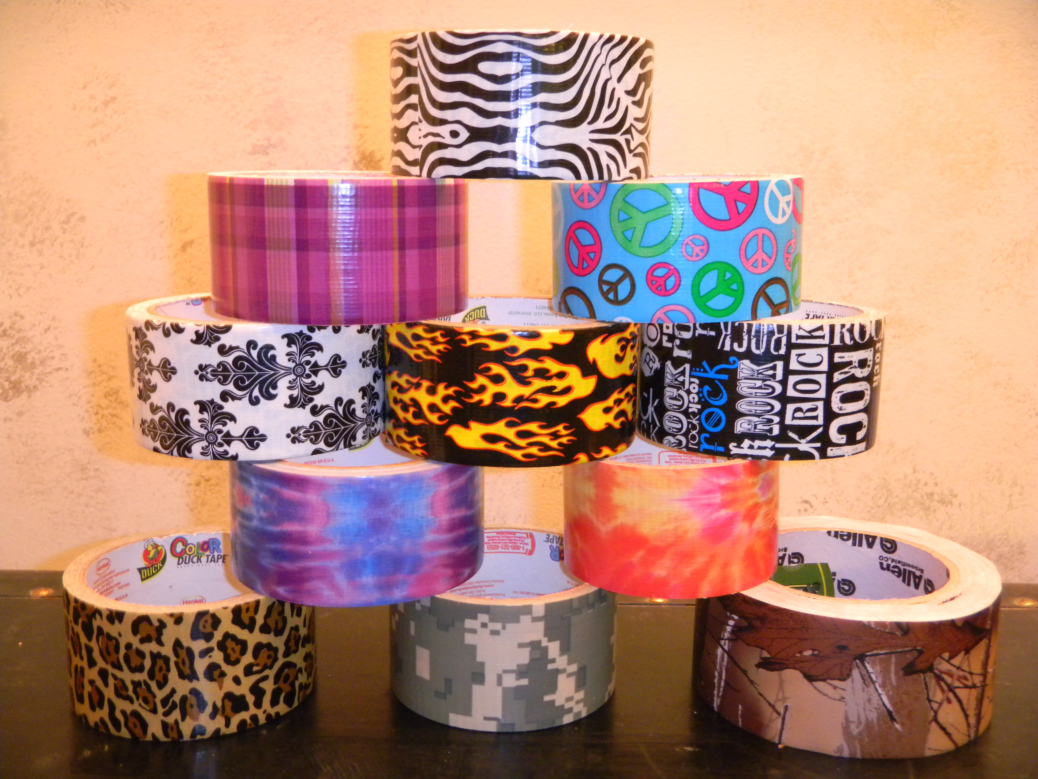Limited Edition Printed Duct Tape 187 Ductapewallet Com
