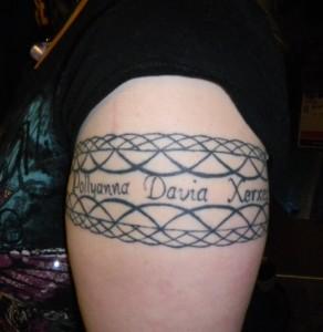 Sandi's tattoo 1-14-11